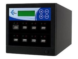 Ez-dupe 7-Target USB Duplicator, USB7T, 15260163, Storage Drive & Media Duplicators