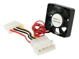 StarTech.com CPU Case Cooling Fan Motor, 4x1cm Cooling with LP4 connectors, FAN4X1LP4, 206243, Cooling Systems/Fans