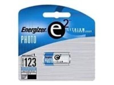 Energizer Photo Battery, Lithium e2 3V, EL123APBP, 11767291, Batteries - Camera