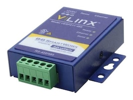 B+B SmartWorx Vlinx Ultra Compact 1-Port Mini Serial Server US Power Supply, VESP211-485, 16035793, Remote Access Servers
