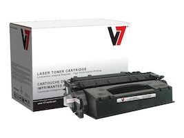 V7 CE505X Black High Yield Toner Cartridge for HP LaserJet P2055 Series, V705X, 11055074, Toner and Imaging Components