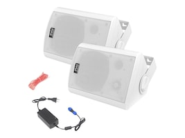 Pyle BT 5.25 Indoor Outdoor Speaker System, PDWR61BTWT, 31478306, Speakers - Audio