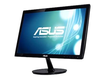 Asus 20 VS207T-P LED-LCD Monitor, Black, VS207T-P, 15309123, Monitors