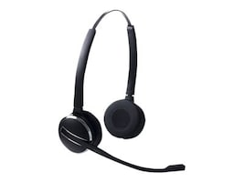 Jabra Replacement Headset for PRO 9450 Duo, PRO 9460 Duo & PRO 9465 Duo, 14401-03, 13112378, Headsets (w/ microphone)