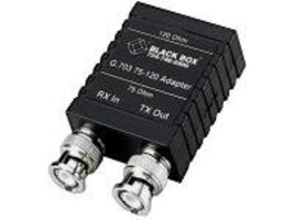 Black Box G.703 75-120 ADAPTER (F), MT242A-F, 33002547, Network Device Modules & Accessories