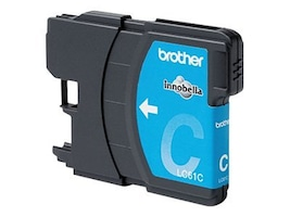 Brother Cyan LC61C Ink Cartridge for MFC-6490CW, LC61C, 8688815, Ink Cartridges & Ink Refill Kits