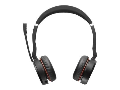 Jabra Evolve 75 Headset MS, 7599-832-109, 34075959, Headsets (w/ microphone)