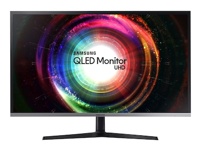 Samsung 31.5 UH85 4K Ultra HD LED Monitor, Black Silver, U32H850UMN, 34010725, Monitors