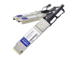 Add On Computer Peripherals SOLR-QSFP2SFP-5MP-AO Main Image from Right-angle