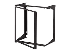C2G 11U x 25d Swing Out Wall Mount Open Frame Rack, 14617, 30593994, Racks & Cabinets