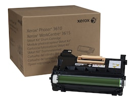 Xerox Smart Kit Drum Cartridge for Phaser 3610 WorkCentre 3615 WorkCentre 3655, 113R00773, 16180026, Toner and Imaging Components