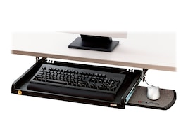 3M Under Desk Keyboard Drawer with Leatherette Gel Wrist Rests, KD45, 8715836, Ergonomic Products
