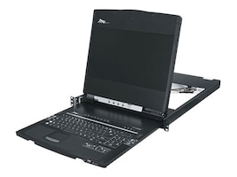 Middle Atlantic 8-Port HD Rackmount KVM Console & Switch, 1900 x 1080, RM-KB-LCD17KVMHD, 34987309, KVM Switches