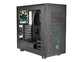 Thermaltake Chassis, Core X31 RGB Edition Mid Tower 6x3.5 Bays 2x5.25 Bays 8xSlots Window, Black, CA-1E9-00M1WN-02, 31464983, Cases - Systems/Servers