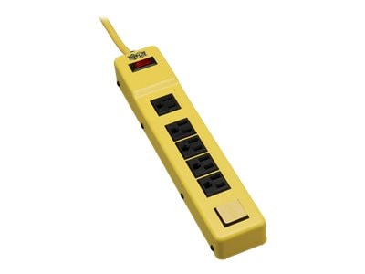 Tripp Lite Power It Safety Power Strip (6) Outlet OSHA Yellow 6ft. Cord, TLM626NS, 8033851, Power Strips