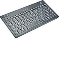 Adesso Mini Trackball Keyboard, USB, 87-Key, Black, AKB-310UB, 9990768, Keyboard/Mouse Combinations