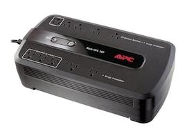 APC Back-UPS ES 750VA 450W UPS, Green Edition, (10) 5-15R Outlets, BE750G, 8198349, Battery Backup/UPS