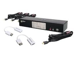 IOGEAR 4-Port HDMI & DisplayPort KVM, GCS1794DPKIT, 33765051, KVM Switches