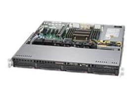 Supermicro Barebones, SuperServer 5018R-M 1U RM Xeon E5-2600 v3 Family Max.512GB DDR4 4x3.5 HS Bays PCIe 2xGbE, SYS-5018R-M, 18123949, Barebones Systems