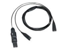 VXI Y-Cord with Inline Mute & Volume Control, 202972, 12704671, Phone Accessories