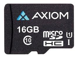 Axiom 16GB MICROSDHC CLASS 10, MSDHC10U116-AX, 41057779, Memory - Flash
