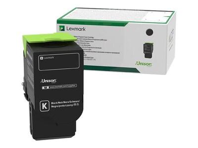 Lexmark 801SK Black Standard Yield Return Program Toner Cartridge, 80C1SK0, 14909590, Toner and Imaging Components - OEM