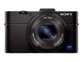 Sony Cyber-shot Digital Camera RX100 II, 20.2MP, Black, DSCRX100M2/B, 16037879, Cameras - Digital