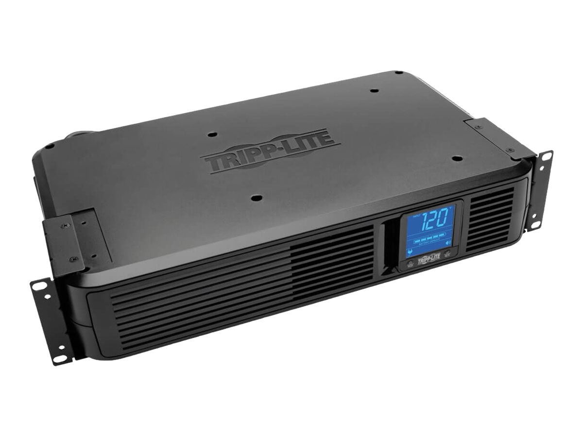 Tripp Lite 1500VA UPS Smart Pro Rack Tower Digital LCD Line-Interactive (8) Outlet, SMART1500LCD, 6262175, Battery Backup/UPS