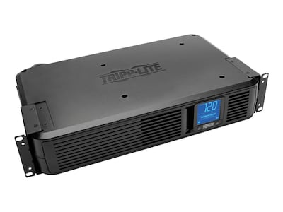 Tripp Lite 1500VA UPS Smart Pro Rack Tower Digital LCD Line-Interactive (8) Outlet, SMART1500LCD, 6262175, Battery Backup/UPS