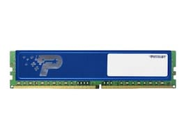 Patriot Memory 16GB PC4-19200 288-pin DDR4 SDRAM UDIMM, PSD416G24002H, 34307254, Memory