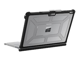 Urban Armor Plasma Series Case for 13.5 Microsoft Surface Book 2, Ice Black, SFBKUNIV-L-IC, 34776958, Carrying Cases - Notebook