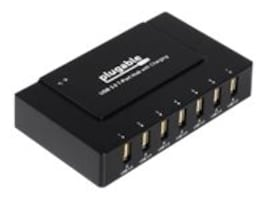 Plugable 7-Port USB 3.0 Charging Hub 60W BC1.2 Powered, USB3-HUB7BC, 30972821, USB & Firewire Hubs