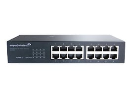 Amped Wireless ProSeries 16-Port GbE Switch, G16SW, 33582772, Network Switches