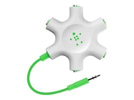Belkin RockStar Multi Headphone Splitter, F8Z274BT, 17496305, Adapters & Port Converters
