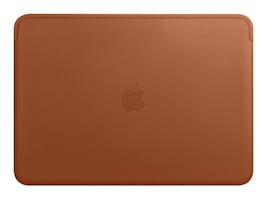 Apple Leather Sleeve for 13 MacBook Pro, Saddle Brown, MRQM2ZM/A, 35875430, Carrying Cases - Notebook