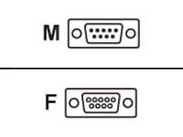 Adtran NetVanta Router Console Cable DB9 Male to DB9 Female, 1200881E1, 8260325, Cables