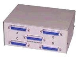 C2G 4:1 DB25 Manual Switch Box, 03292, 131217, Switch Boxes