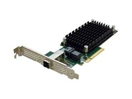 Quantum ATTO ExpressSAS H1244 SATA 6Gbs SAS 12Gbs PCIe 3.0 HBA, HAABB-AATE-H12A, 34606271, Host Bus Adapters (HBAs)