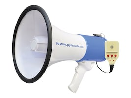 Pyle 50 Watt Professional Rechargeable Megaphone - Piezo Dynamic, Lithium Battery, Record, Siren, PMP59IR, 16549268, Speakers - Audio