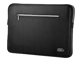 HP HP 15.6-INCH STANDARD BLACK SLEEVE, H4P40AA#ABA, 37526225, Carrying Cases - Notebook
