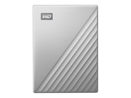 Western Digital 2TB WD My Passport Ultra for Mac USB-C Portable Hard Drive - Silver, WDBKYJ0020BSL-WESN, 36139688, Hard Drives - External