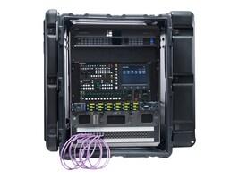 Pelican Hardigg Super V Series Rack Mount 14U Case, Black, SUPER-V-14U-SAE, 32445864, Carrying Cases - Other