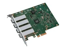 Intel OEM GigE I350 Server NIC 4Pt. PCIe LC VT-C VMDQ DMAC, I350F4BLK, 13422966, Network Adapters & NICs