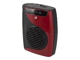 GPX Cassette Player AM FM Radio w  Built-In Speakers, CAS337B, 34584964, Portable Stereos