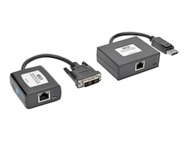 Tripp Lite DisplayPort to DVI over Cat5 6 1080p @60Hz Active Extender Kit, B150-1A1-DVI, 31482516, Video Extenders & Splitters