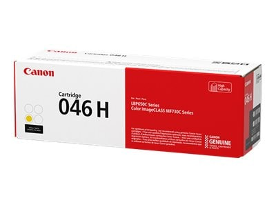 Canon Yellow 046 High Capacity Full Yield Toner Cartridge, 1251C001, 33923995, Toner and Imaging Components - OEM
