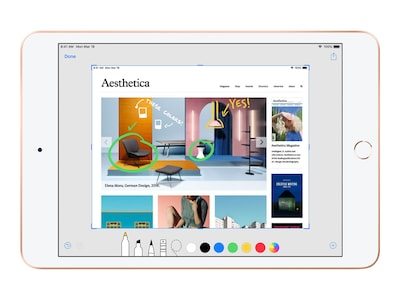 Apple iPad Air 10.5, 256GB, WiFi, Gold, MUUT2LL/A, 36794455, Tablets - iPad