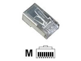 Black Box Cat5e Shielded Modular Plugs, 10-Pack, FMTP5ES-10PAK, 9904760, Cable Accessories