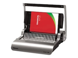 Fellowes Quasar+ 500 Comb Binding Machine with Starter Kit, 5227201, 31711681, Office Supplies