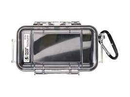 Pelican I1015 Micro Case w  Clear Lid for iPod & Smartphone w  Liner, Black, 1015-005-100, 31175428, Carrying Cases - Phones/PDAs